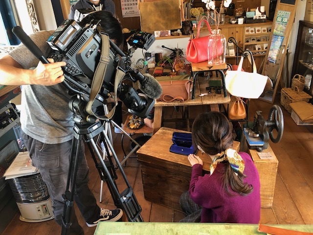 NHKのテレビ取材を受けました
