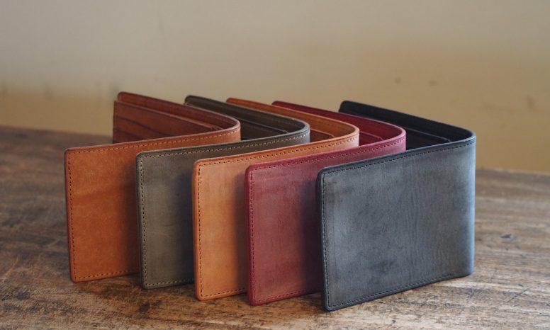 皮のお財布